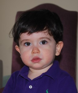 18 month old boy
