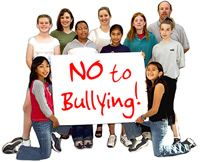 sign saying No to Bullying