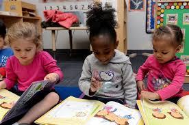child in preschool