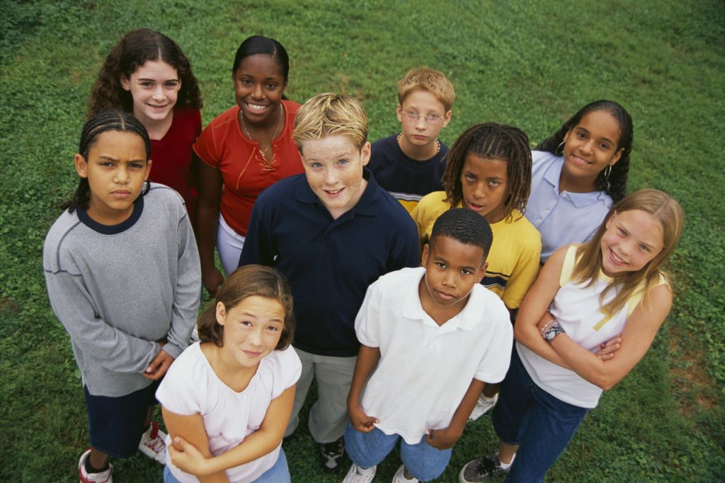 Image result for image of a group of twelve year olds