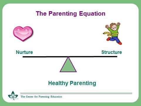Balance between nurture and structure