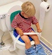Boy on Potty