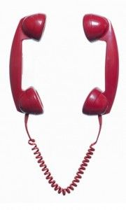 telephone two recievers