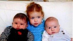 preschooler with babies