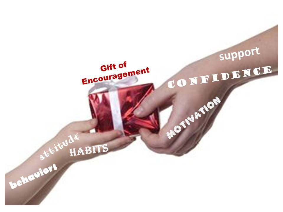 giving the gift of encouragement