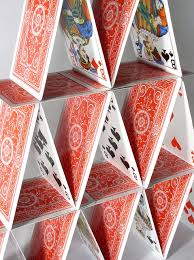building of cards
